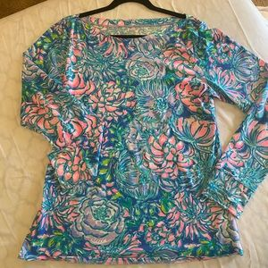 ALEAH TOP MULTI - IN FULL BLOOM xl Lilly Pulitzer